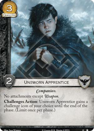 Unsworn Apprentice