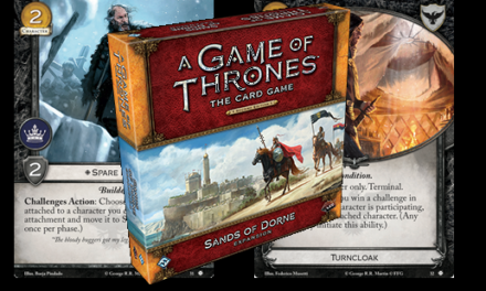 Night's Watch Spolers from the Sands of Dorne Deluxe Box!