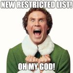 The Restricted List That Was Promised